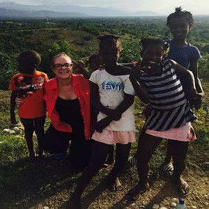 """As a member of Hope Force International's medical mission trip to Sous Savanne, Haiti, Danielle Brown, RN, treated patients """"with respect and compassion."""""""
