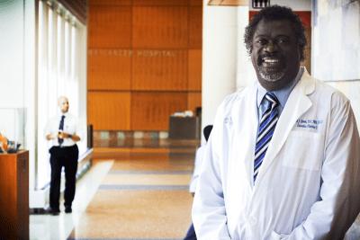 men in nursing - Ernest Grant, RN, president, American Nurses Association