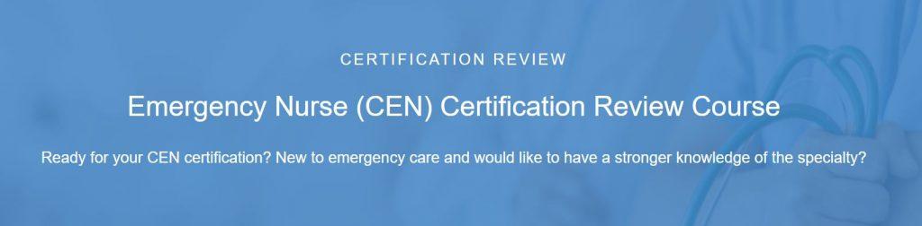 Emergency nurse certification review