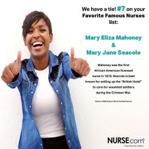 National Nurses Week - favorite famous nurses