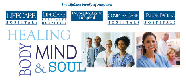 LifeCare Hospitals Header
